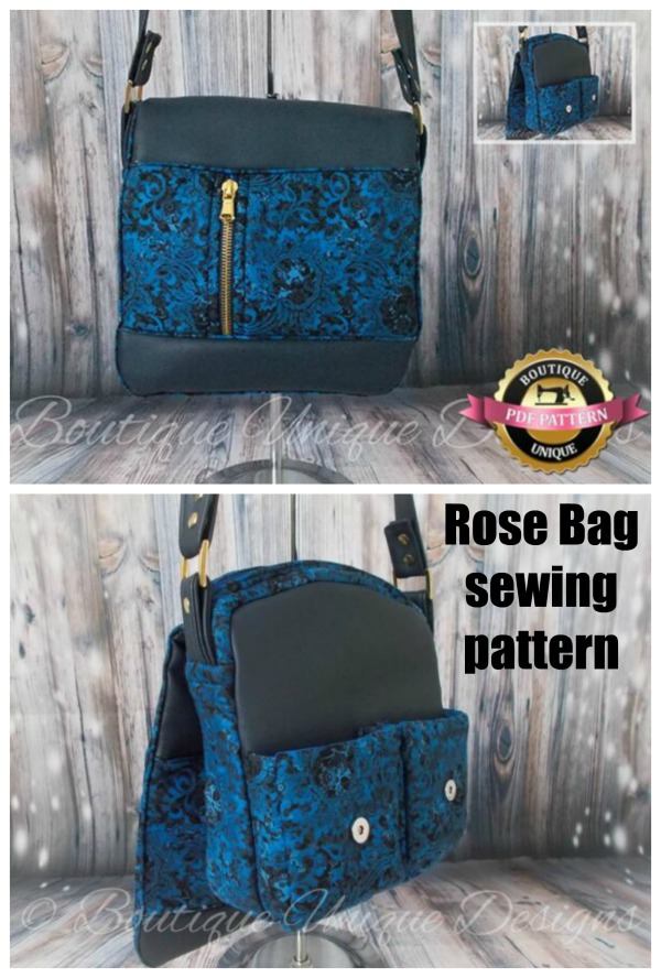 Rose Bag sewing pattern