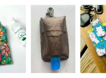 Sew a Hand Sanitizer Holder (3 patterns with videos)