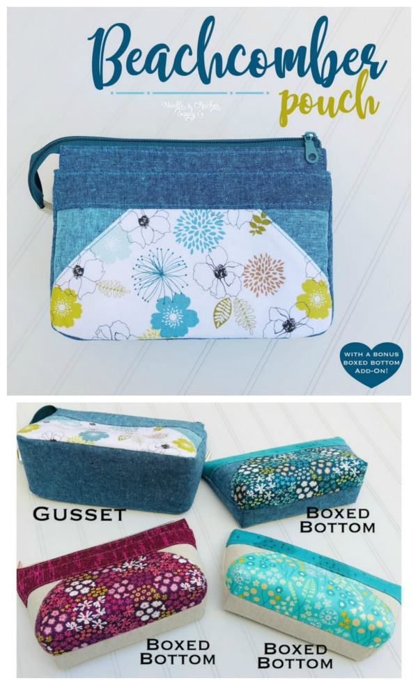 Beachcomber Pouch sewing pattern