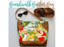 Boardwalk Bucket Bag (2 sizes) sewing pattern