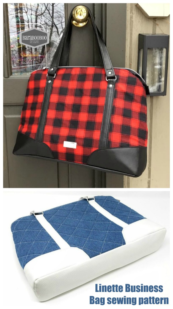 Linette Business Bag sewing pattern
