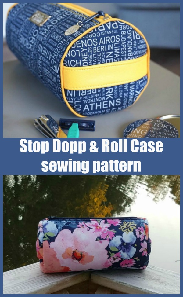 Stop Dopp And Roll Case sewing pattern
