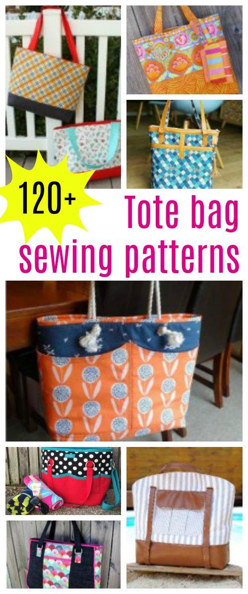 Tote bag sewing patterns