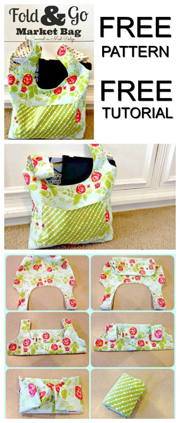 Shopping bag pattern free