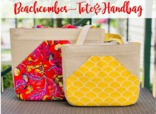Beachcomber Tote and Handbag (2 sizes) pattern