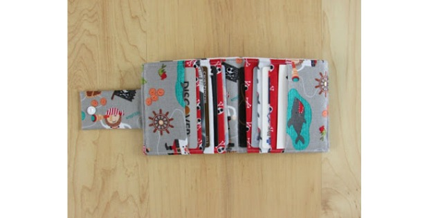 Free Wallet sewing pattern for Men and Boys
