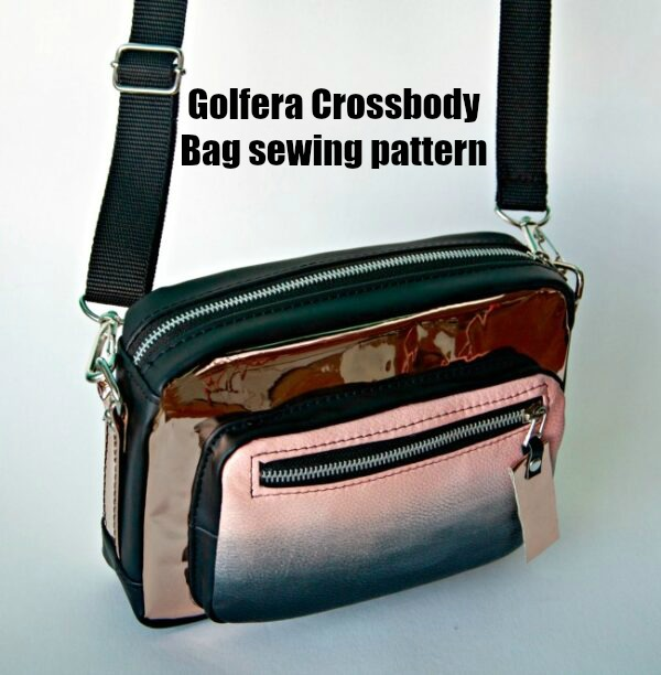 Golfera Crossbody Bag sewing pattern