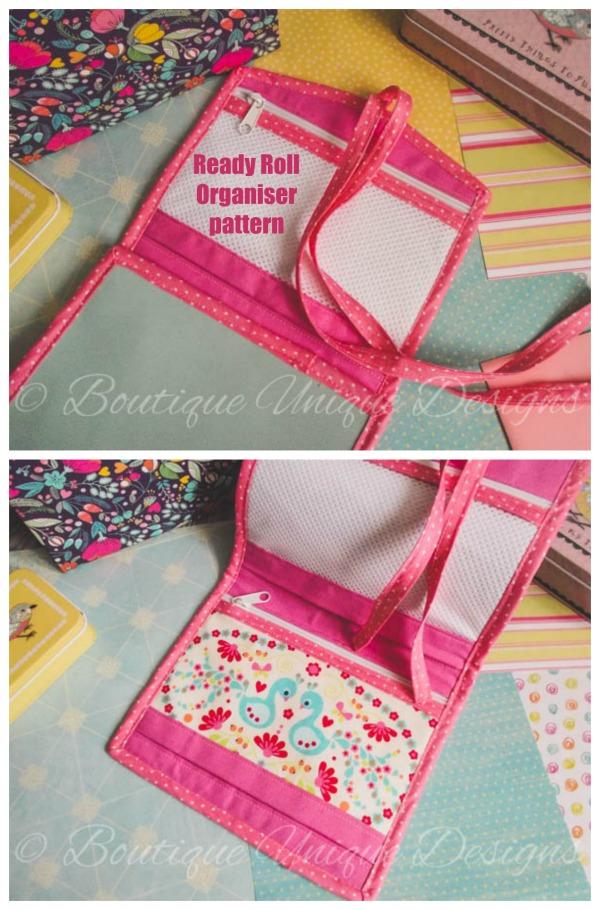 Ready Roll Organiser sewing pattern