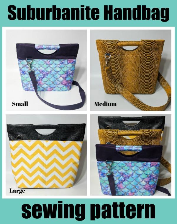 Suburbanite Handbag sewing pattern