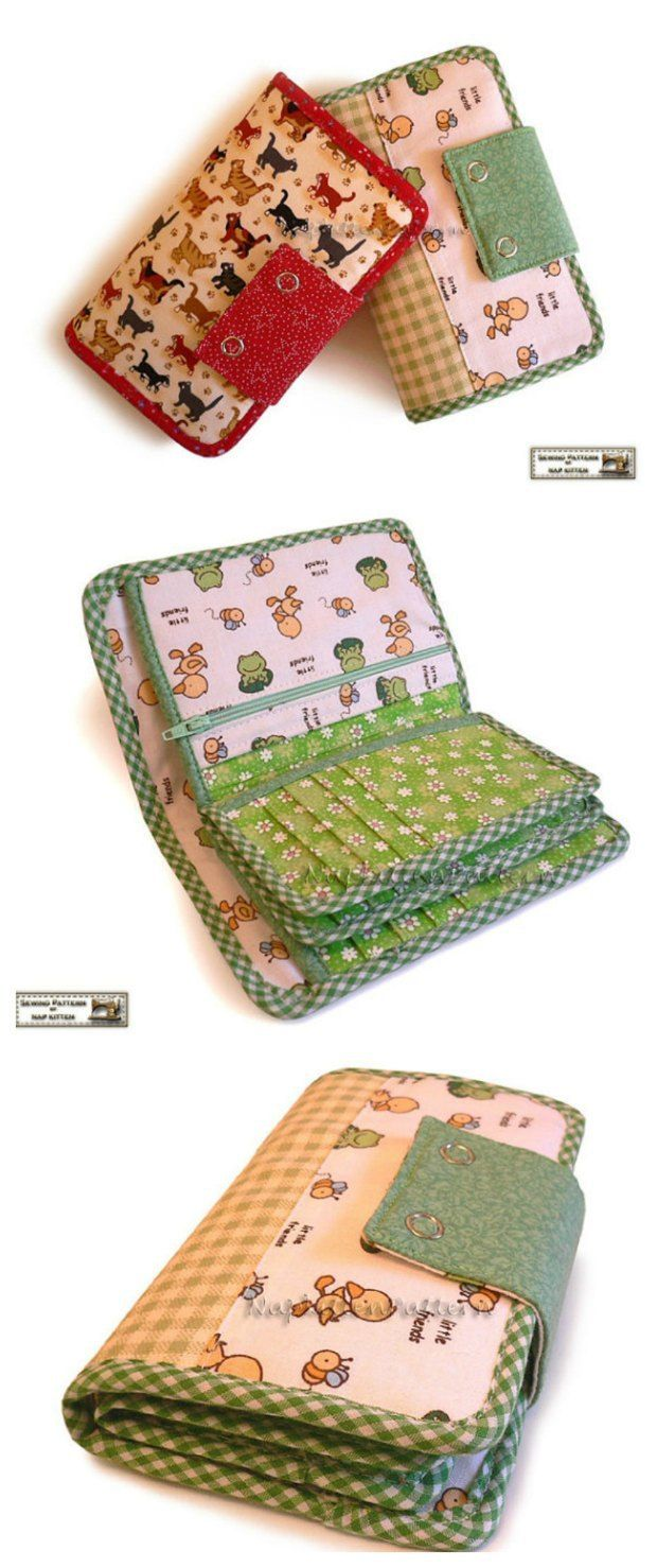 Awesome wallet sewing pattern you'll love