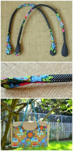 Sew your own perfect padded purse handles