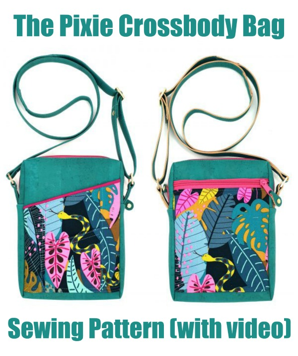 The Pixie Crossbody Bag (with video) sewing pattern