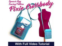 Pixie Crossbody Bag (with video) sewing pattern