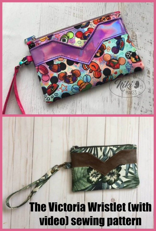 The Victoria Wristlet (with video) pattern