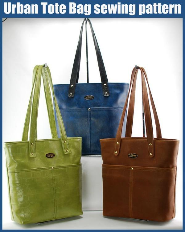 Urban Tote Bag sewing pattern