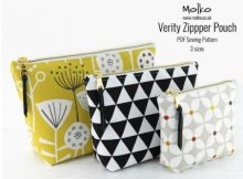 Verity Zipper Pouch (3 sizes) sewing pattern