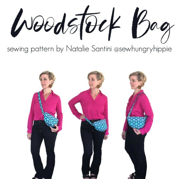 Woodstock Bag (with video) sewing pattern