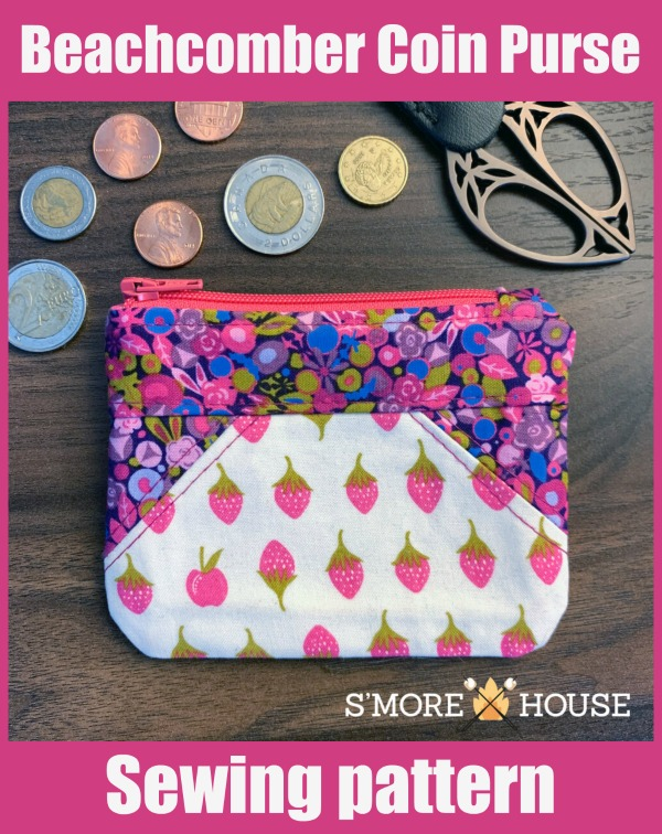 Beachcomber Coin Purse sewing pattern