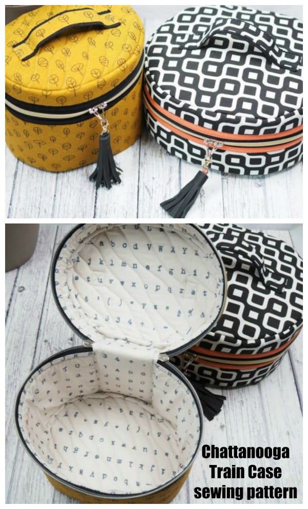 Chattanooga Train Case sewing pattern
