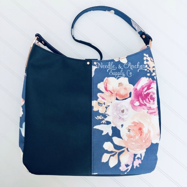 Goddess of the Sea Shoulder Bag sewing pattern