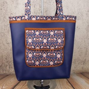 Happy Shopper Tote Bag sewing pattern