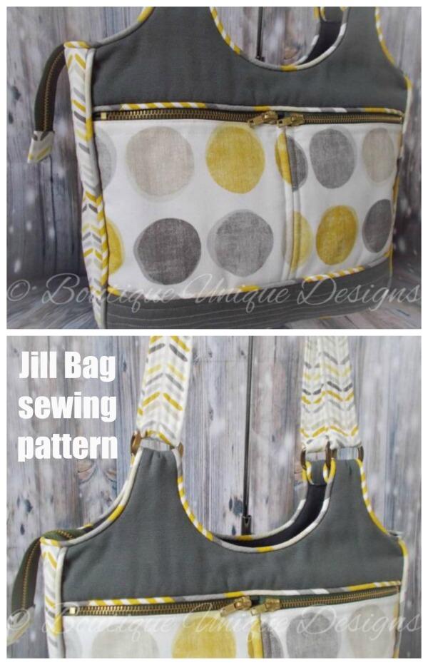 Jill Bag sewing pattern
