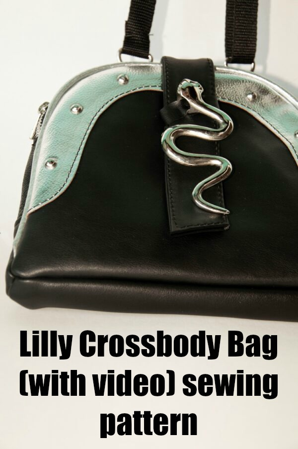 Lilly Crossbody Bag (with video) sewing pattern
