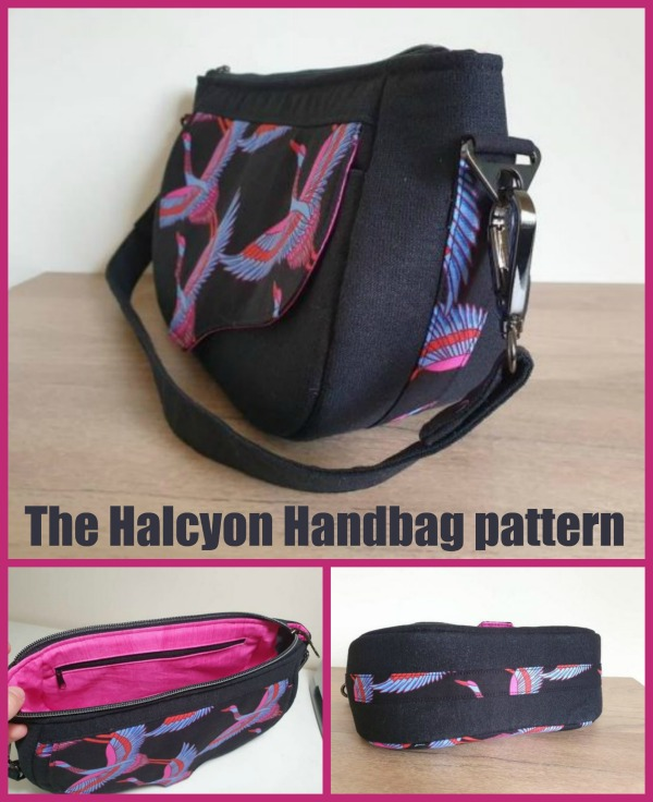 The Halcyon Handbag pattern