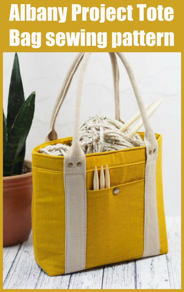Sewing pattern for the Albany Project Tote Bag