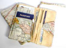 FREE DIY Passport Wallet sewing pattern