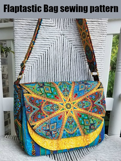 Sewing pattern for the Flaptastic Bag