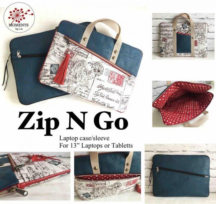 Zip-n-Go Laptop Case