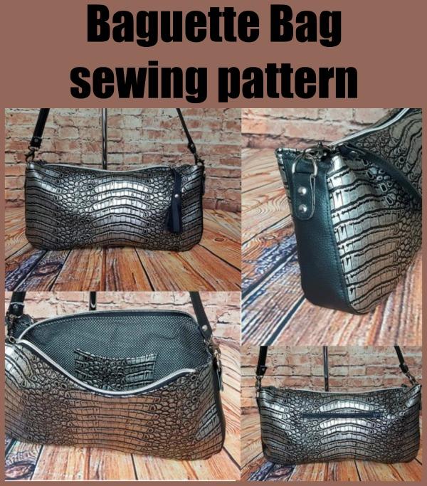 Baguette Bag sewing pattern
