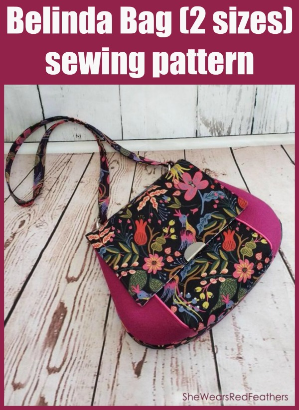 Belinda Bag (2 sizes) sewing pattern