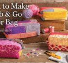 Grab and Go zipper bag sewing video class