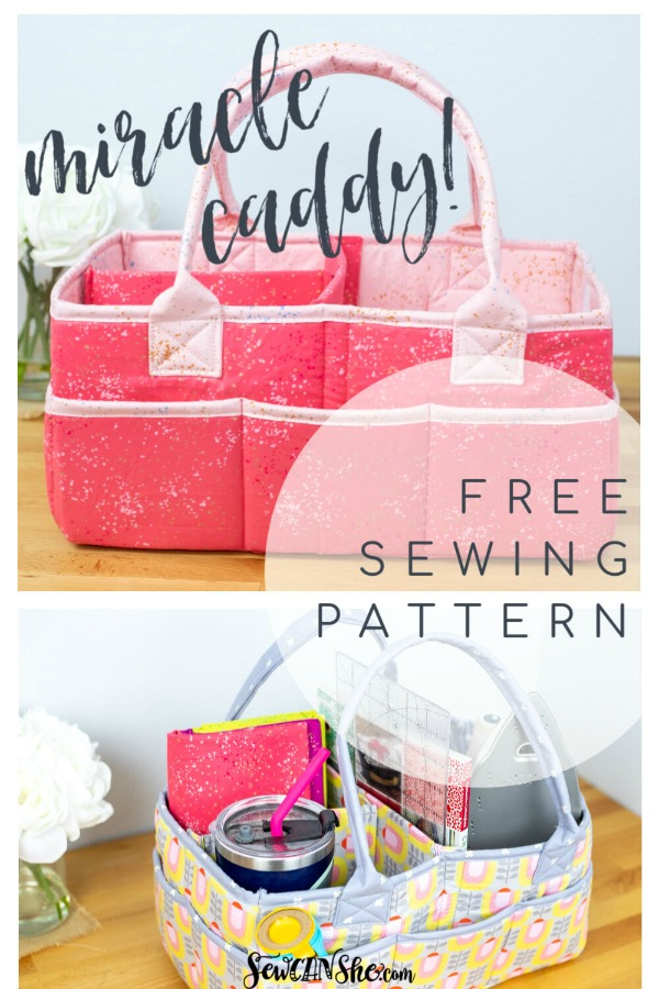 Miracle Caddy FREE sewing pattern
