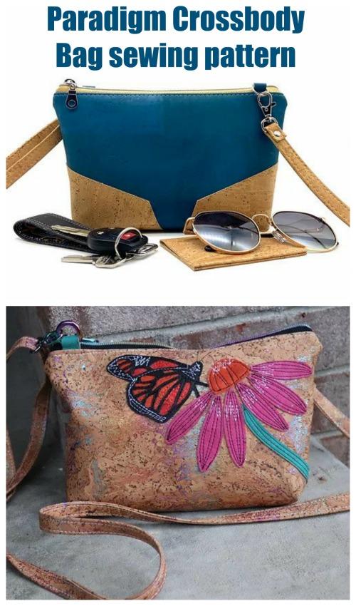 Paradigm Crossbody Bag sewing pattern