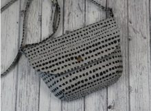 Pasadena Shoulder Bag sewing pattern