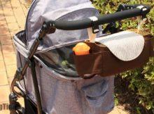 DIY Baby Stroller Bag FREE sewing video tutorial