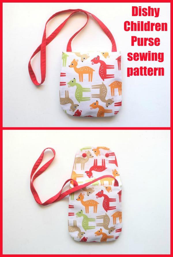 Dishy Children Purse sewing pattern