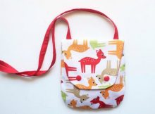 Dishy Children Purse sewing pattern