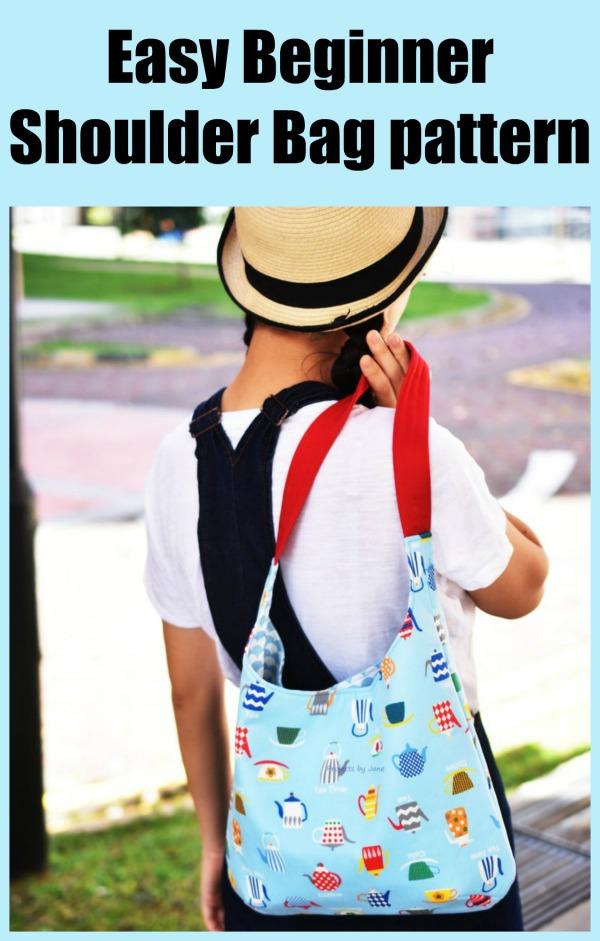 Easy Beginner Shoulder Bag pattern