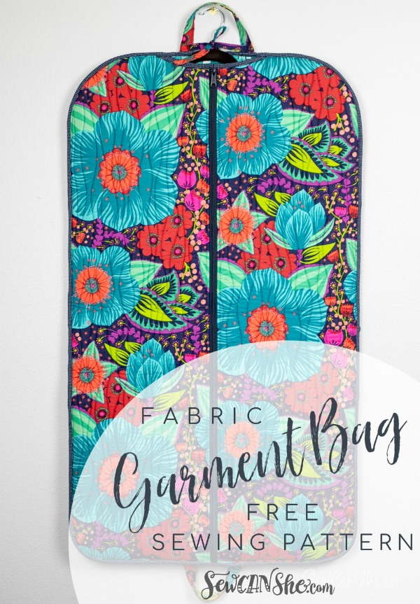Garment Bag FREE sewing pattern