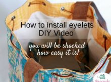 How To Install Eyelets FREE video tutorial