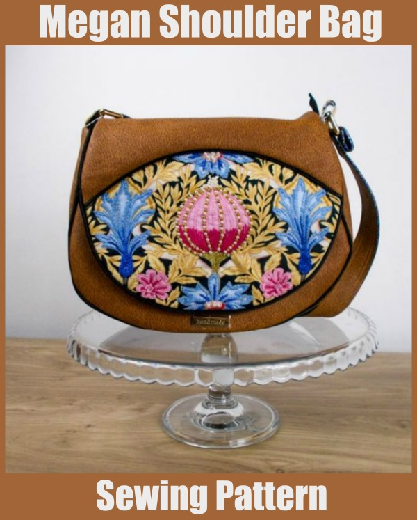 Megan Shoulder Bag sewing pattern