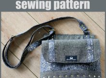 Podium Purse sewing pattern