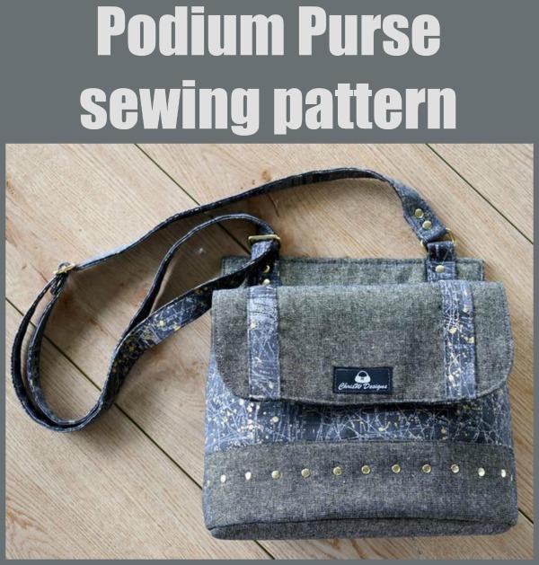 Podium Purse sewing pattern
