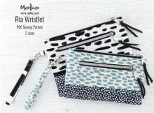 Ria Wristlet (2 sizes) sewing pattern