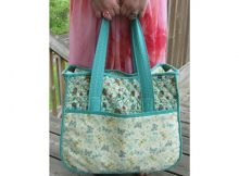 The Overnight Bag FREE sewing pattern