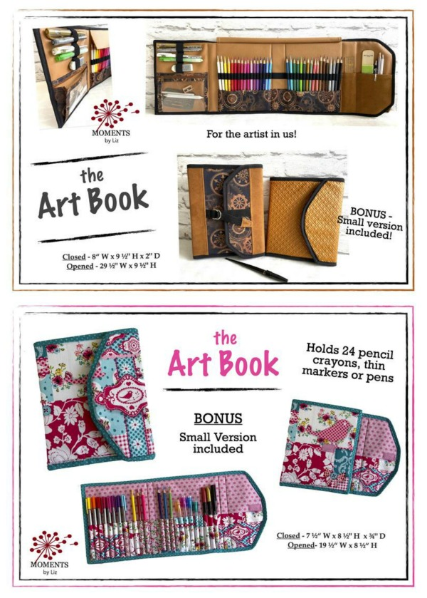 Art Book sewing pattern